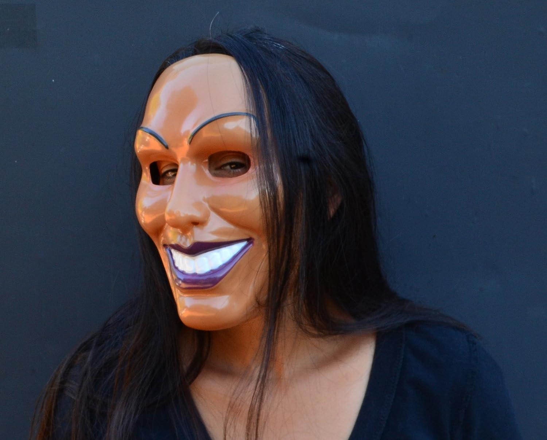 Acid Tactical - Máscara de esparcimiento para Halloween, el Purge (Hembra): Amazon.es: Bricolaje y herramientas