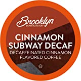 Brooklyn Beans Cinnamon Subway Decaf Coffee Pods, Compatible with 2.0 K-Cup Brewers, 40 Count