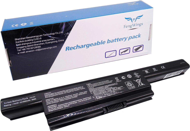 FengWings® A32-K93 10.8V 5200mAh Reemplazar Batería compatible con ASUS K93 X93 A93S A95V K95V A93SM A93SV K93S K93SM K93SV X93SM K93SV-YZ094V K93SV-YZ125D K93SV-YZ166 K93SV-YZ211V X93SM-YZ018V: Amazon.es: Informática