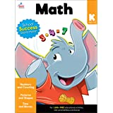 Carson Dellosa Math Workbook―Basic Concepts for Kindergarten Math, Numbers, Counting, Patterns, Shapes, Time, Money, Classroo