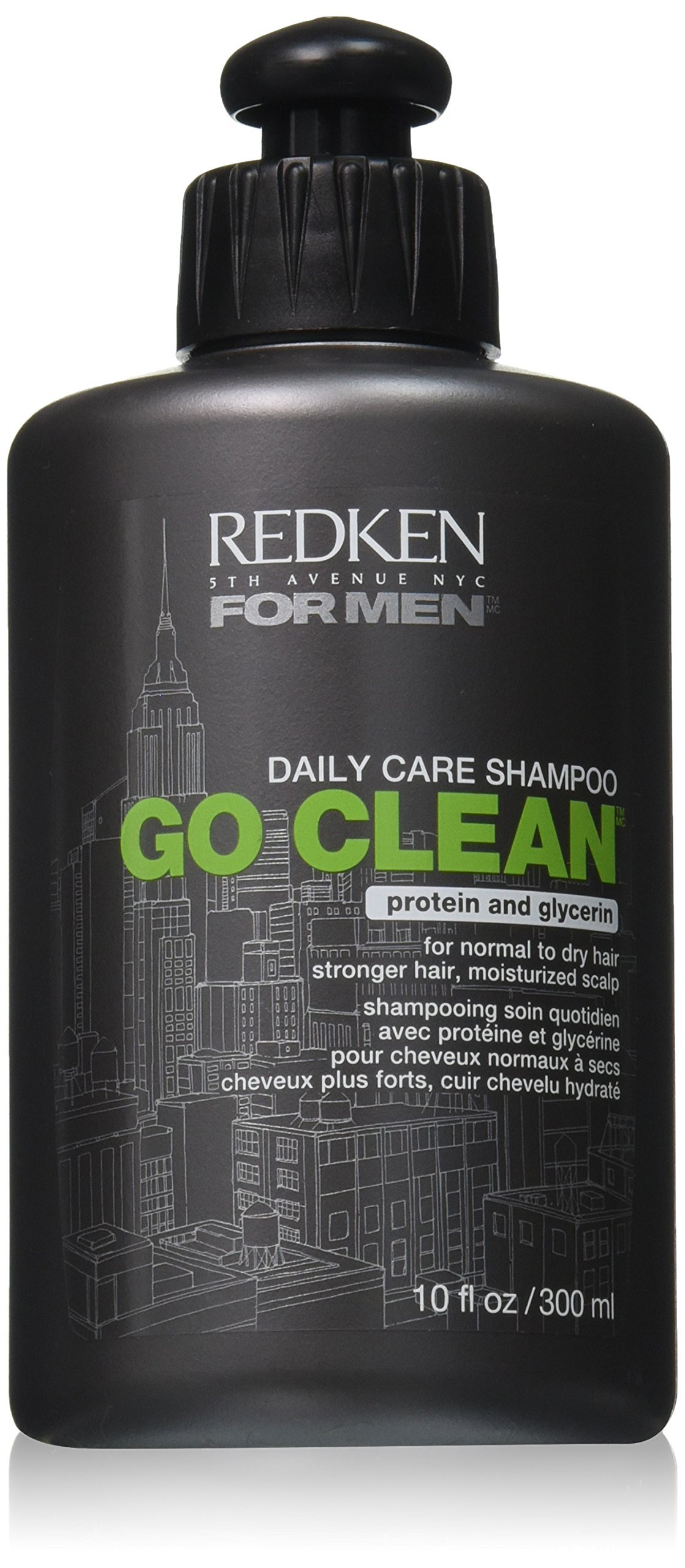 Redken Men Go Clean Shampoo, 10 Fluid Ounce by REDKEN