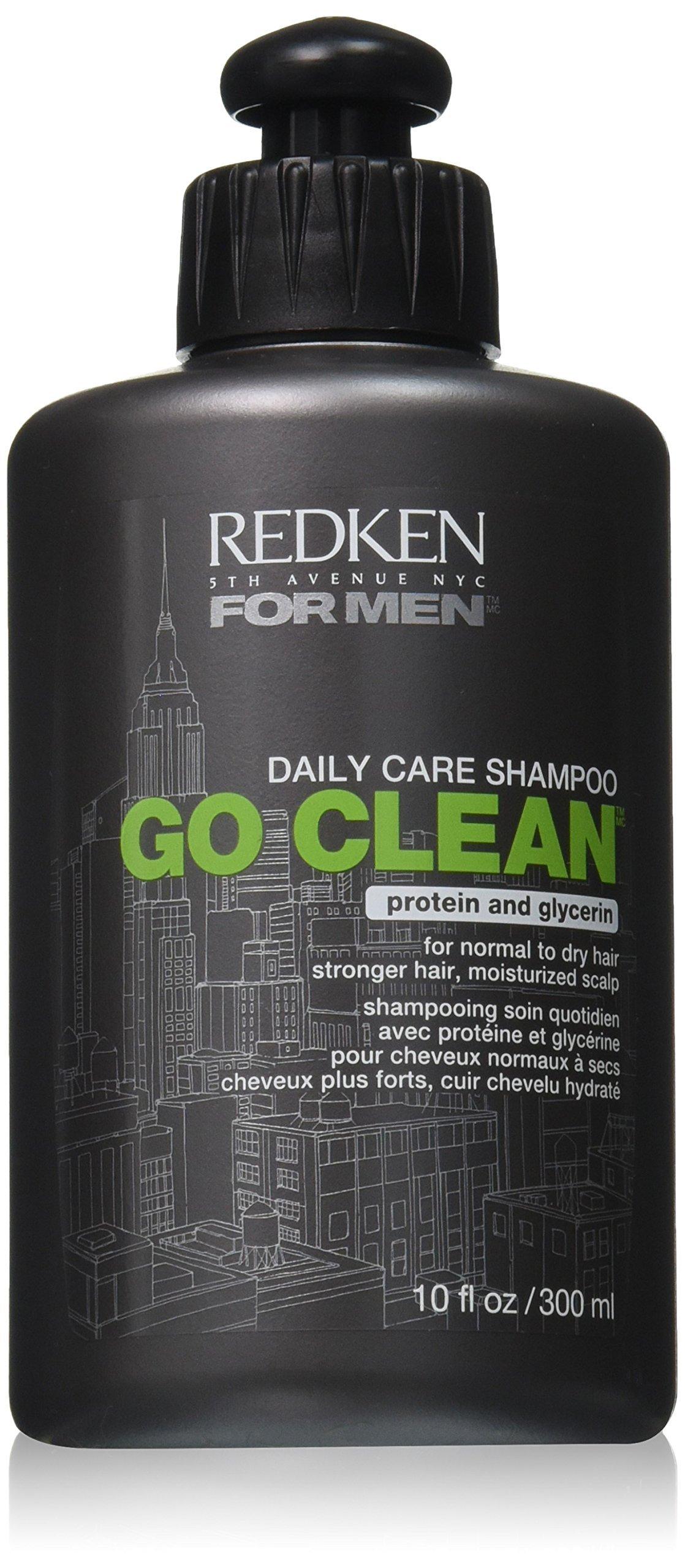 Redken Men Go Clean Shampoo, 10 Fluid Ounce