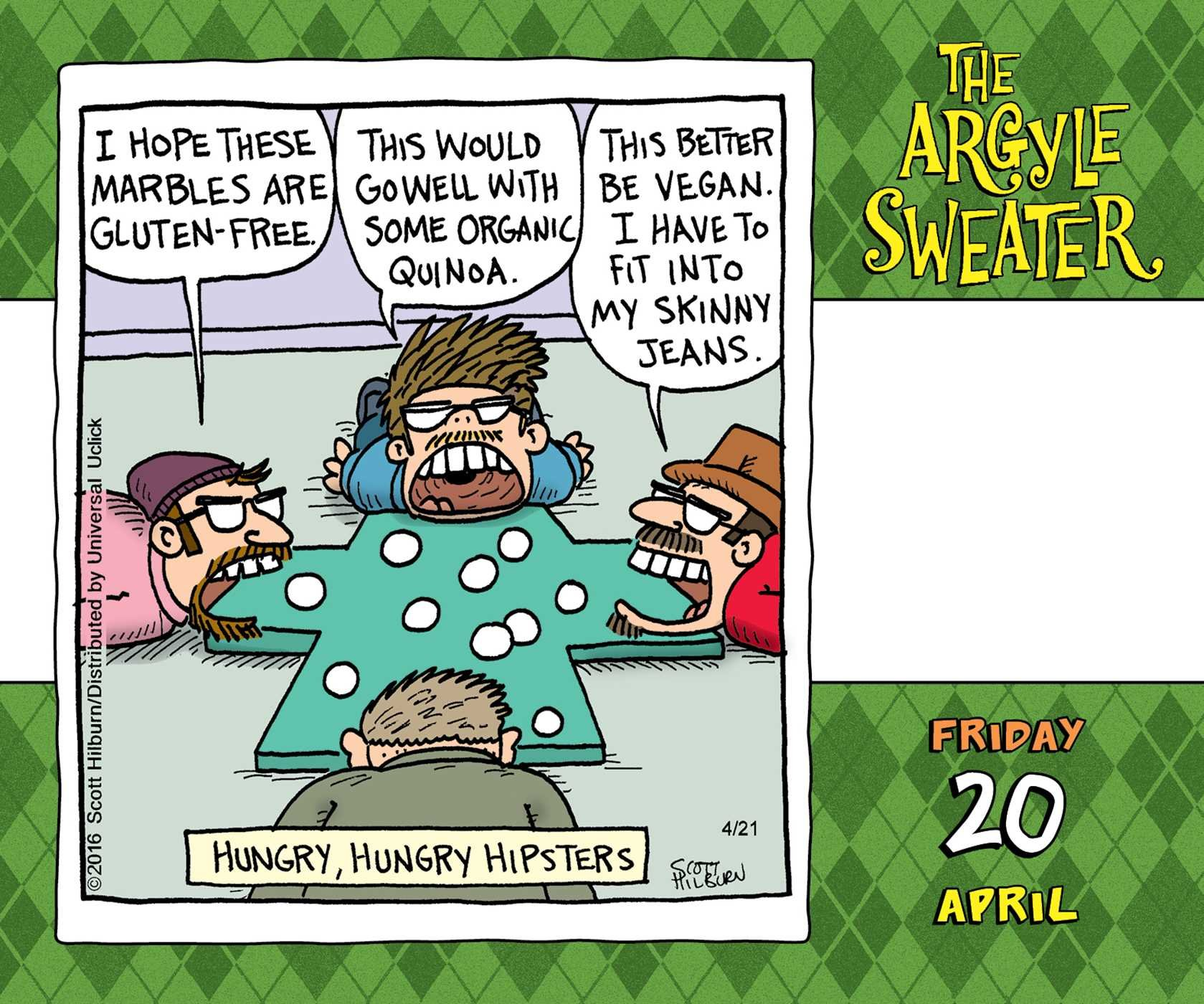 The Argyle Sweater 2018 Day-to-Day Calendar by 2018 Calendars (Image #3)