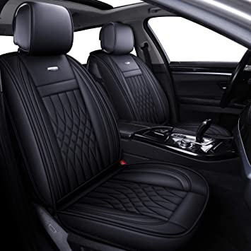 Leatherette full set Black//Grey CAR SEAT COVERS fit MITSUBISHI ASX