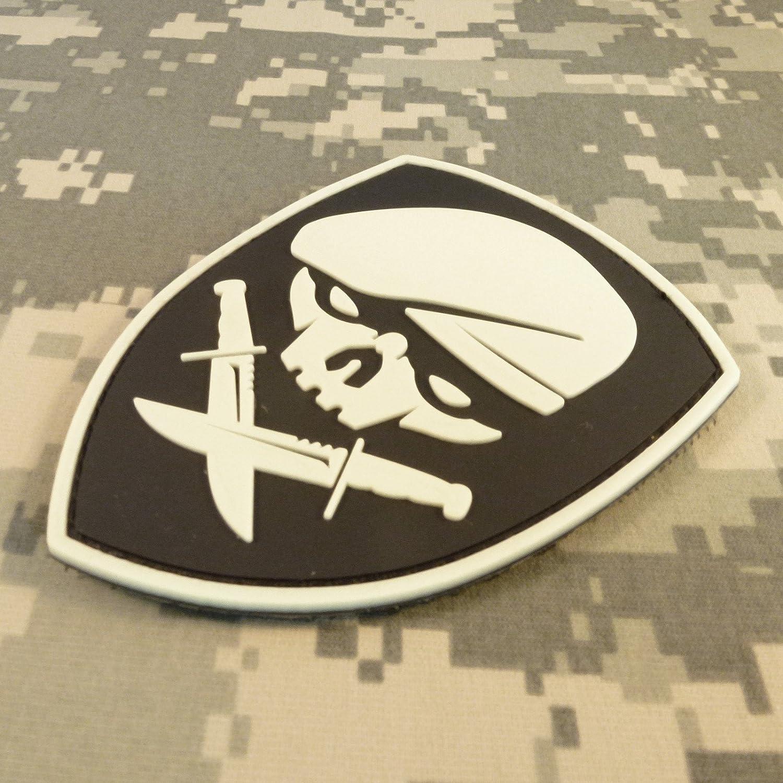 Glow Dark Medal of Honor MOH Rangers GITD Morale Hook/&Loop Aufn/äher Patch