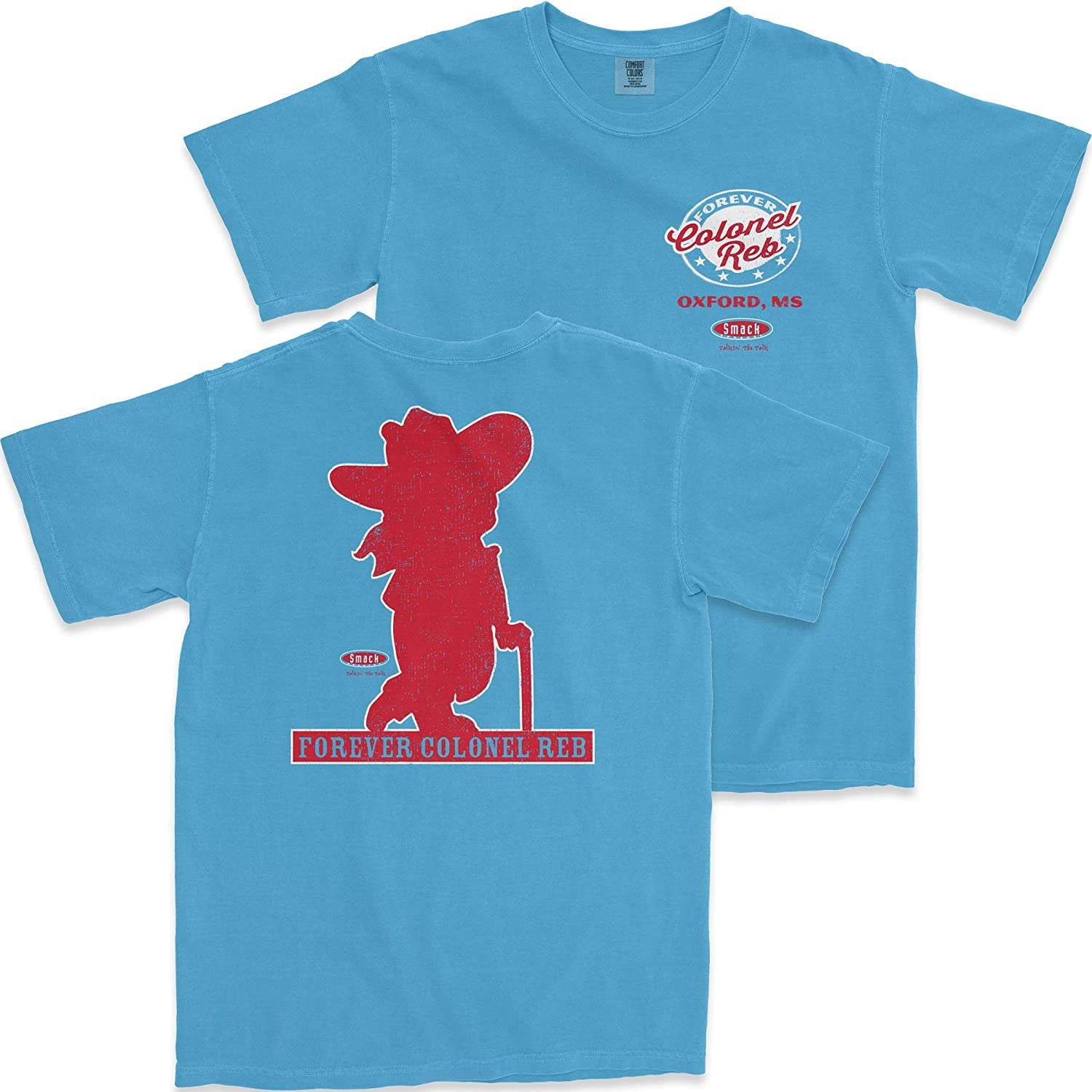 Sm-5X or Sticker Ole Miss Football Fans Forever Colonel Reb T Shirt