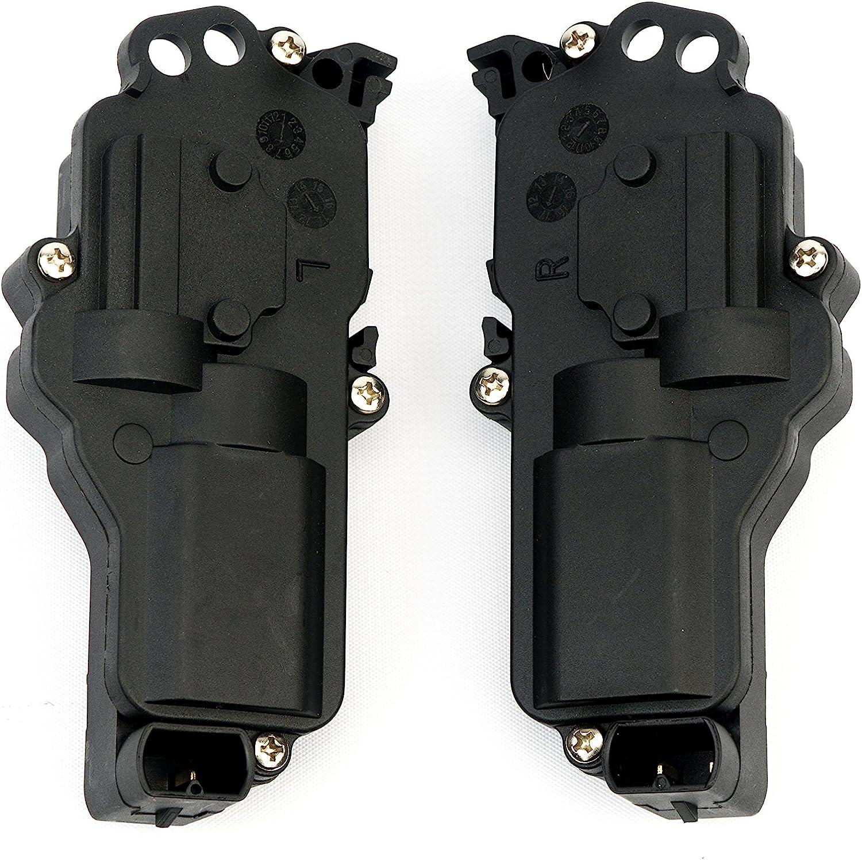 Front /& Rear Left New Door Lock Actuators Set of 2 Driver Side LH Hand Pair