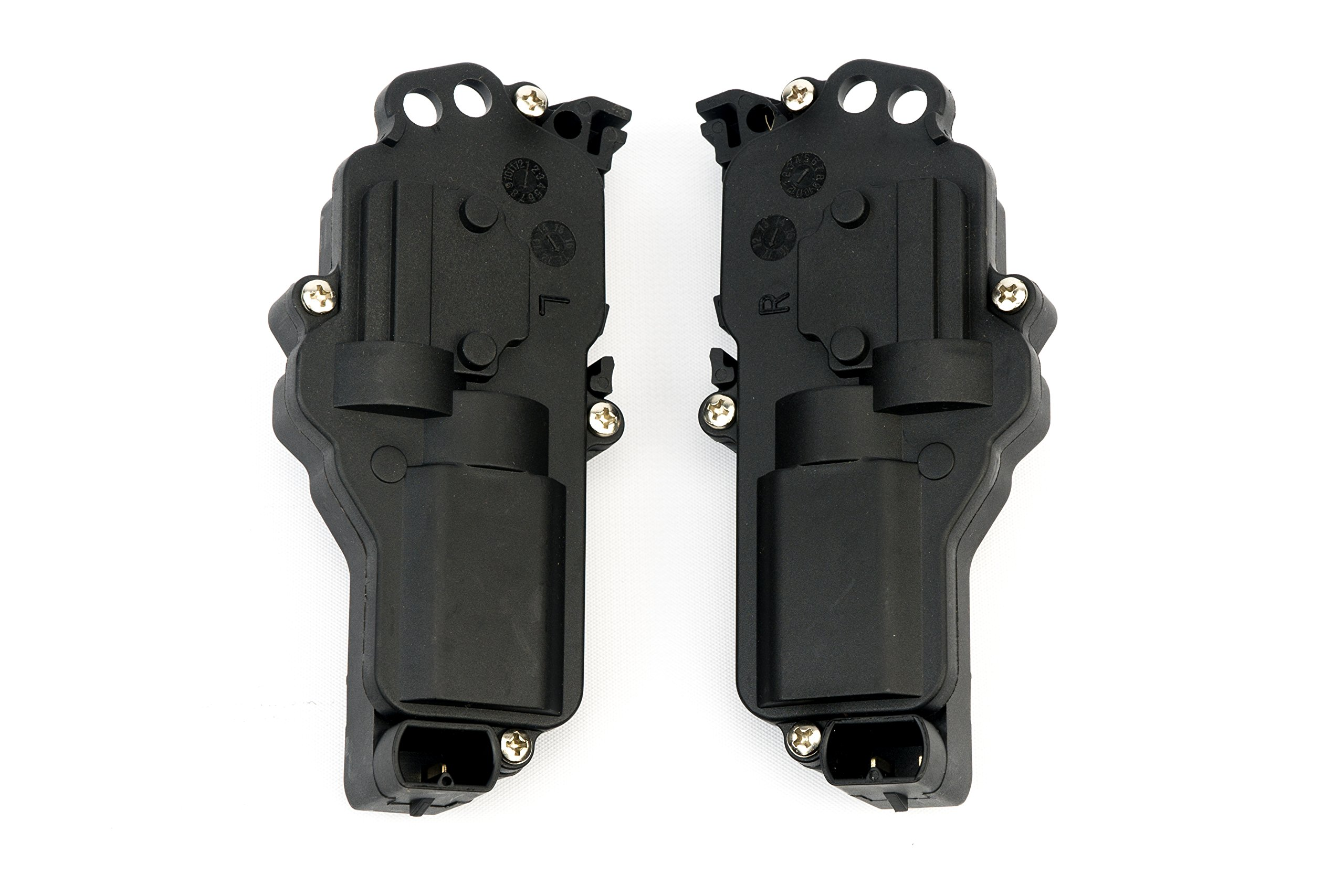 Power Door Lock Actuator, Right & Left Side - Fits Ford F150, F250, F350, F450, Excursion, Expedition, Mustang - Replaces# 6L3Z25218A43AA, 6L3Z25218A42AA - Electric Lock Motor, Driver & Passenger Side