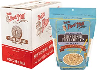 product image for Quick Cooking Steel Cut Oats (22 Ounce (Pack of 4))