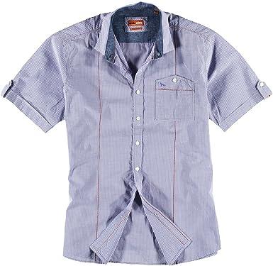 emilio adani - Camisa casual - Regular - Clásico - para hombre lila 54: Amazon.es: Ropa y accesorios