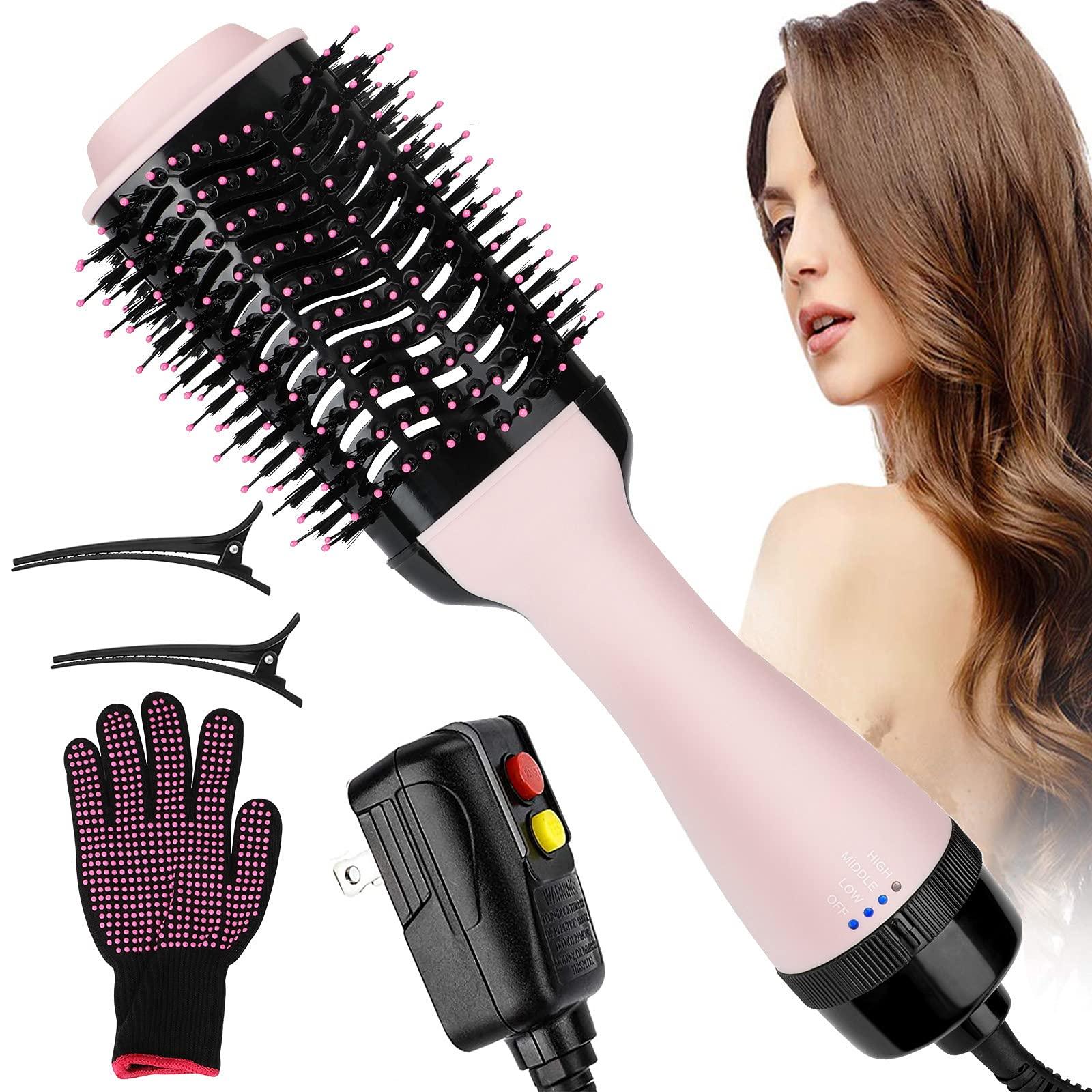 Blow Dryer Brush One Step MANLI Hair Dryer Brush 4 in 1