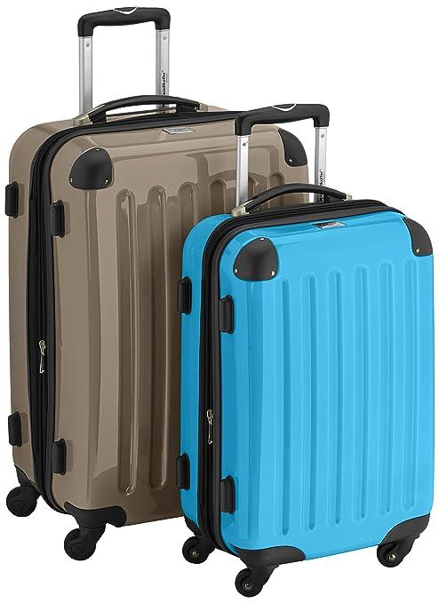 HAUPTSTADTKOFFER Juegos de maletas, 65 cm/55 cm, 74 L/42 L