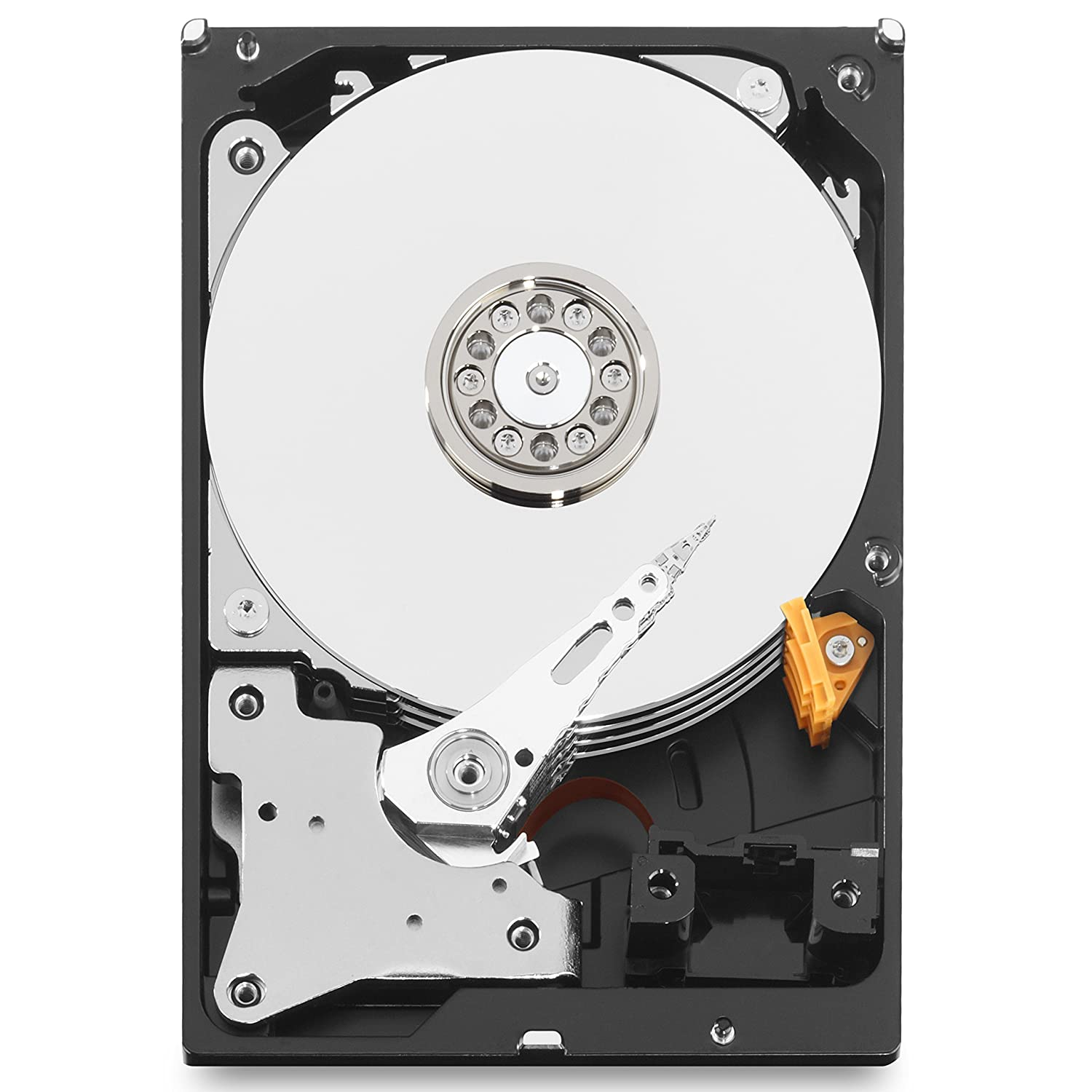 6000 Mbit//s 3.50 Pollici Western Digital WD Purple HDD Interno 2000 GB 64 MB 5400 rpm SATA III