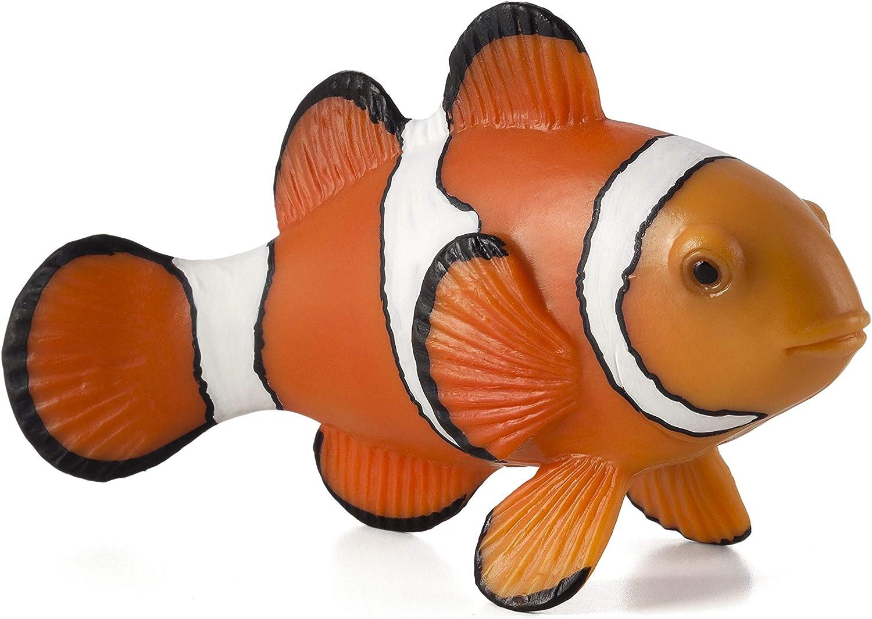.Mojo CLOWN FISH plastic animal sea toy figure model figurine fish bath marine