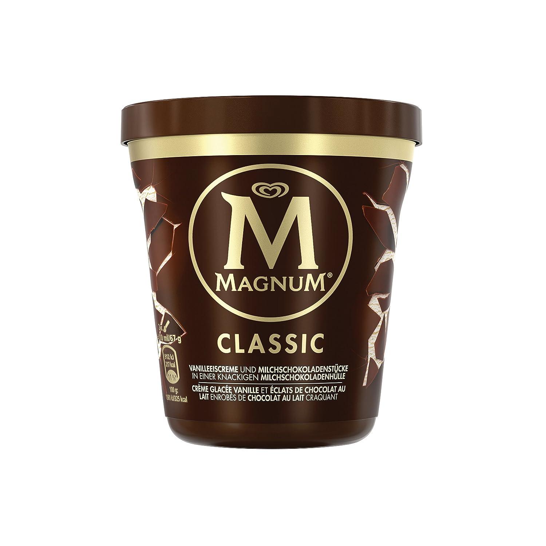 Magnum Pint Clásico Helado Tarrina - 440 ml: Amazon.es: Alimentación y bebidas
