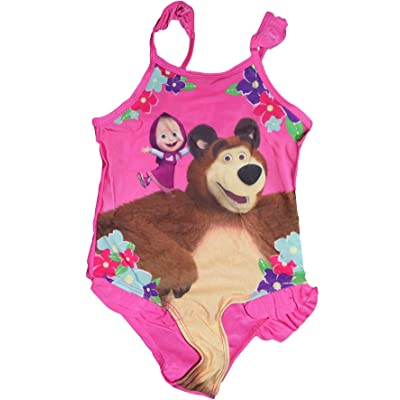 Masha and the Bear - Maillot deux pièces - Fille