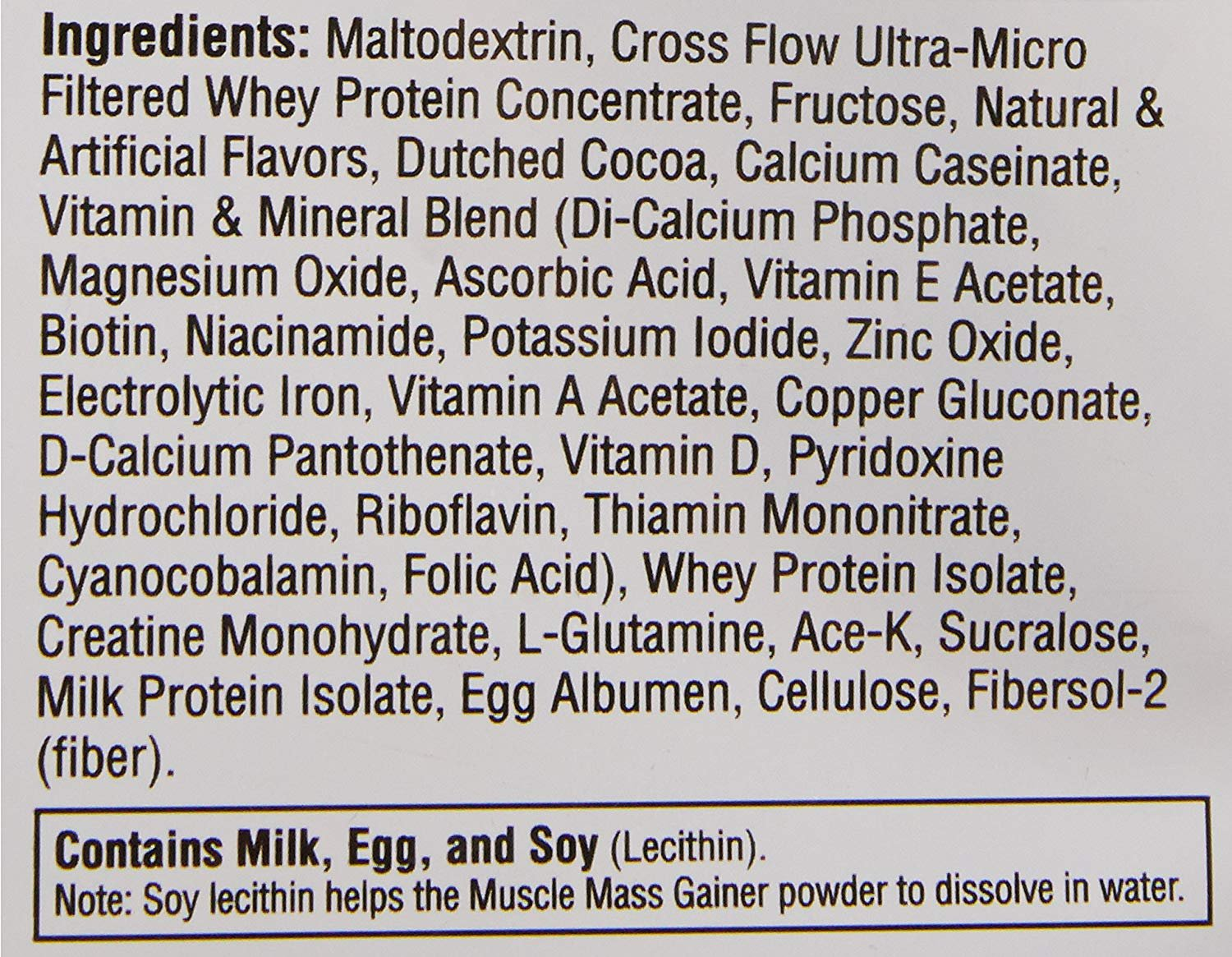 Labrada Nutrition Muscle Mass Gainer, Chocolate, 12 Pound by Labrada (Image #9)