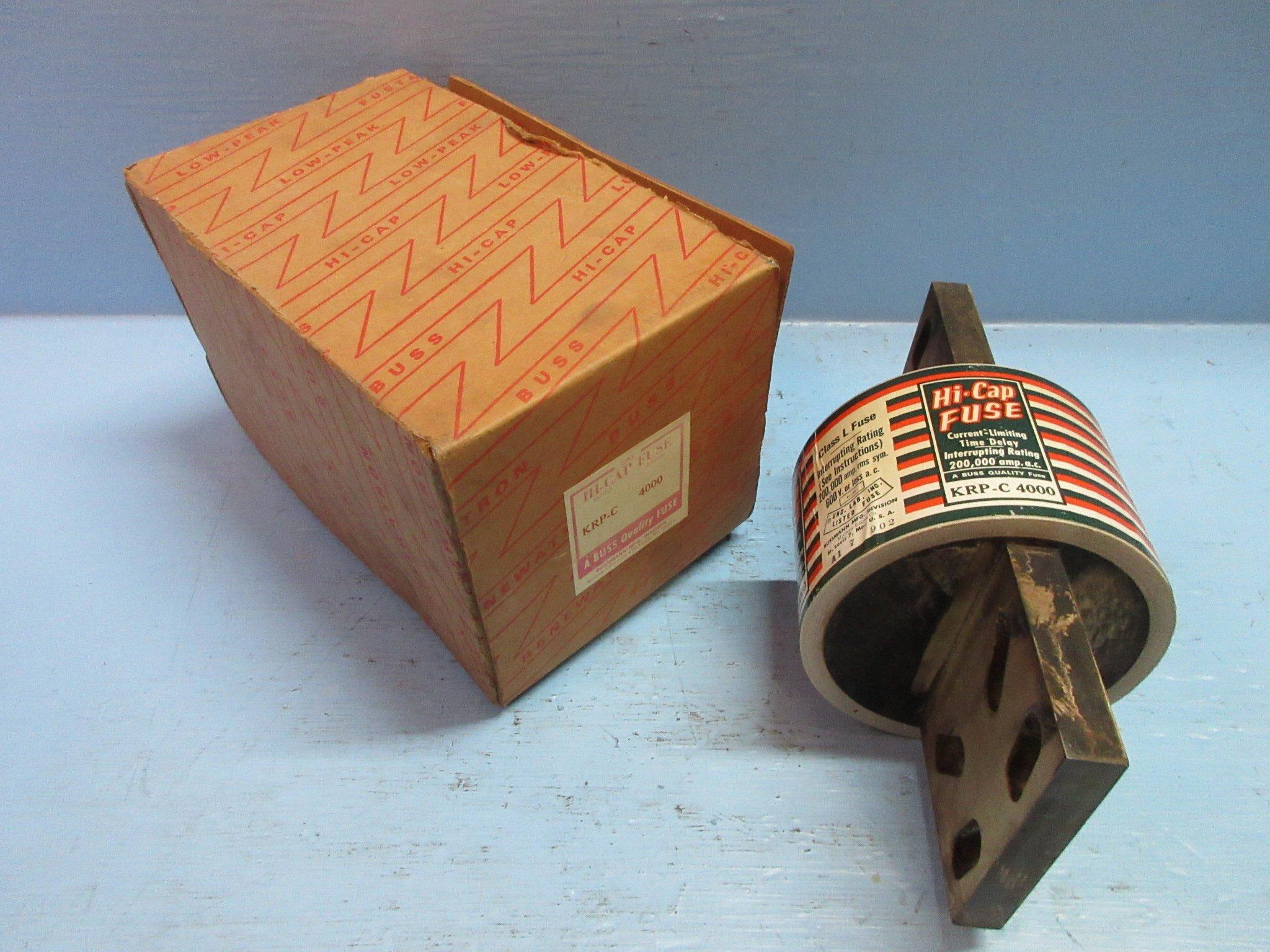 BUSSMANN KRP-C4000 *USED*