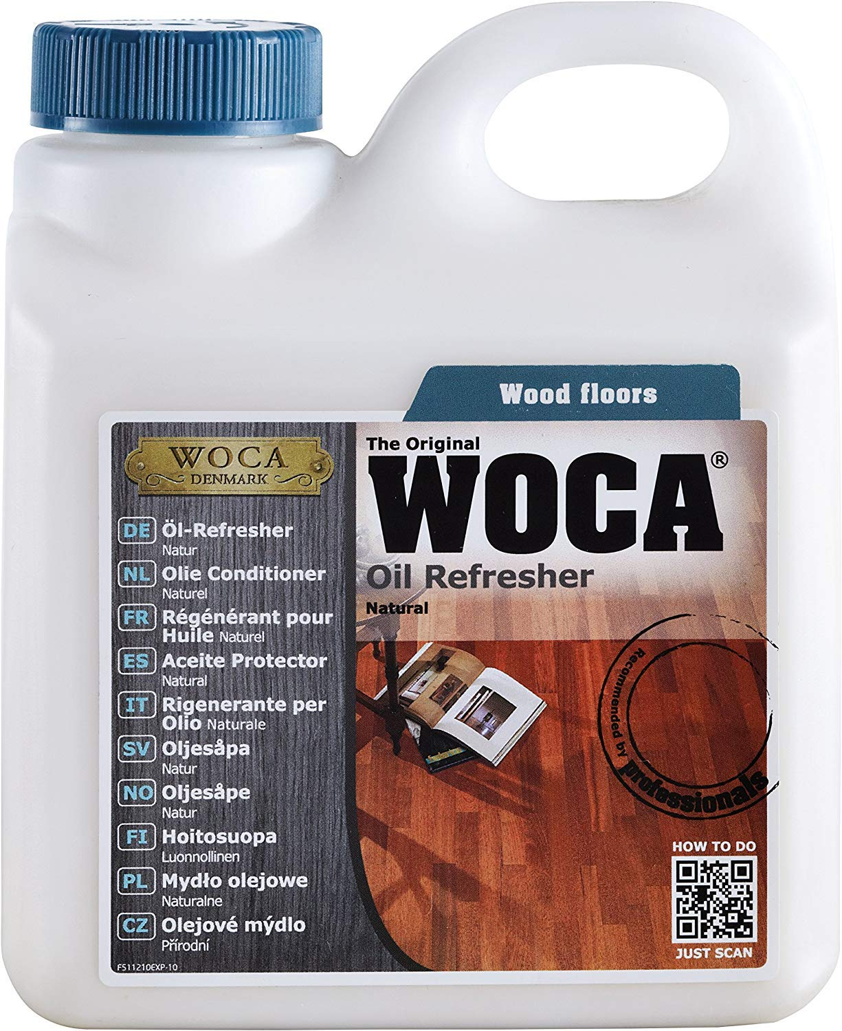 Woca Oil Refresher 1 Ltr (Natural) by WOCA Floor Oil