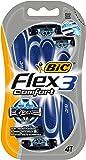BIC Flex 3 Confort Rasoirs, 3 Lames Blister de 4 Lames