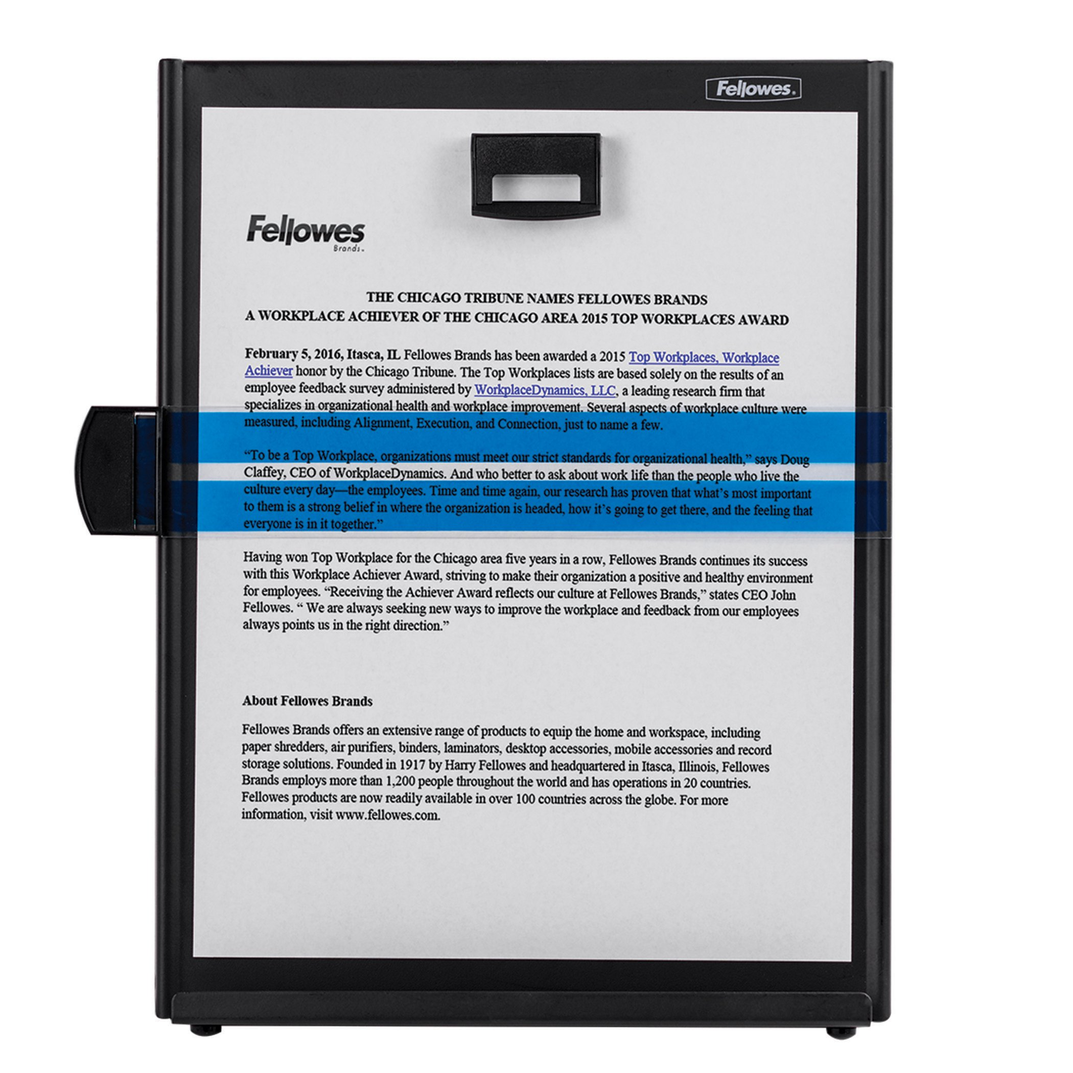 Fellowes Kopy-Aid Black Letter Copyholder (11053) by Fellowes (Image #2)