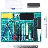 WiMas - Kit de herramientas de modelo Gundam de 26 piezas, modelo hobby, herramientas de construcción Gundam…