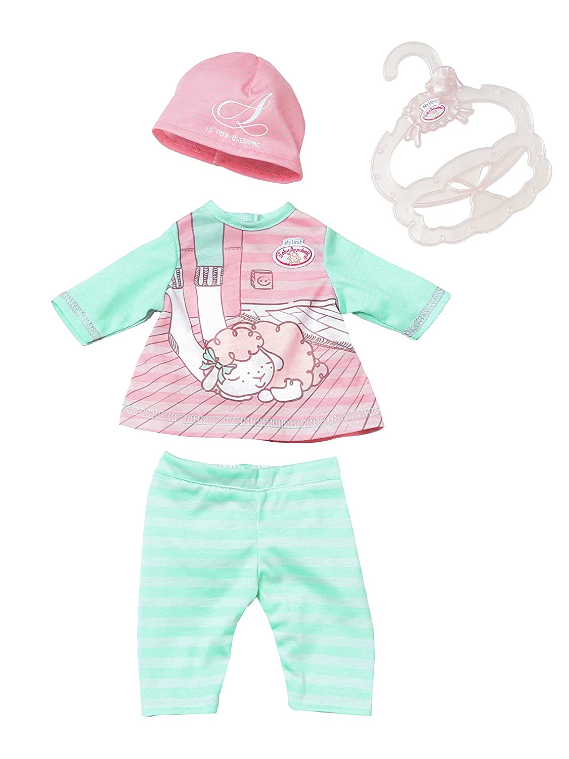 Zapf Creation 700570 My First Baby Annabell Baby Outfit