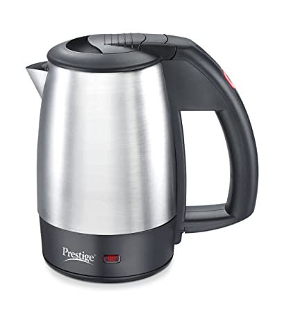 Prestige PKTSS 0.5 Liter 1000W Electric Kettle (Cant be Used to Boil Milk) (Silver)