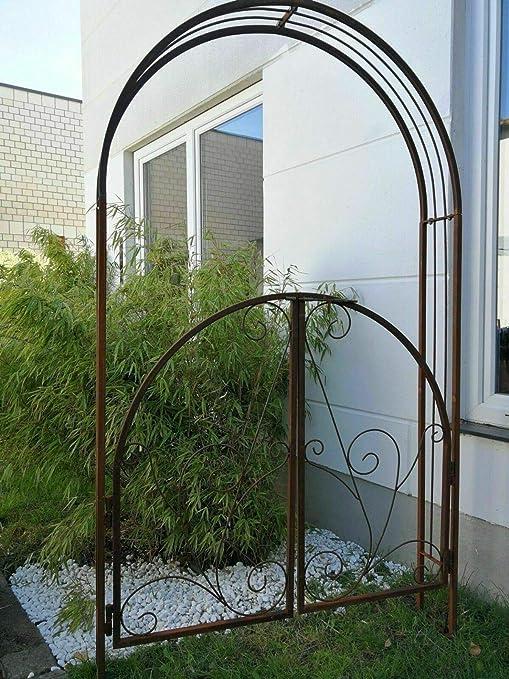 Zen Man 031880 - Arco para Rosales de jardín (Metal, 20 x 120 x ...