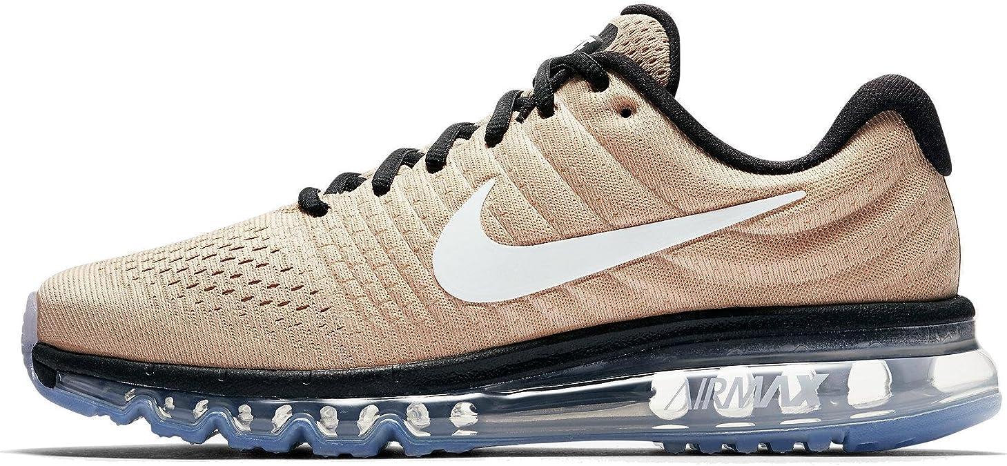 Nike Air Max 2017 849559 200 - Zapatillas de running para hombre, color beige: Amazon.es: Deportes y aire libre