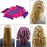 Ekan Long Spiral Hair Curly Roller Small For Women's & Girls, Multicolred, 30 Grams, Pack Of 1 (#1)