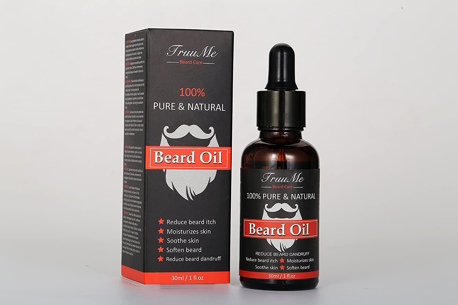 Beard Oil XL by Steampunk® - The Kissable Blend - For Soft Beard, Moustache & Hair Growth – Moisturiser & Leave-In Conditioner - Fights Dandruff & Itch – 100ml The Scented Gent