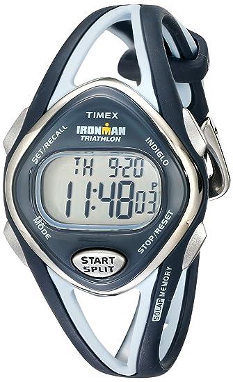 Timex T5K038 SU - Reloj digital de cuarzo unisex con correa de resina, color dorado: Timex: Amazon.es: Relojes