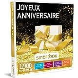 SMARTBOX - Coffret Cadeau - JOYEUX ANNIVERSAIRE - 8480 activités : séance bien-être, gastronomie ou aventure