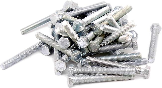 Tornillos hexagonales M5 (5 mm x 40 mm) (rosca completa) – acero ...