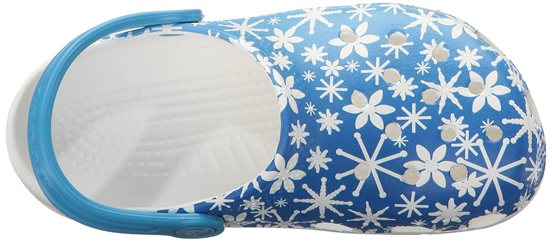 Crocs Classic Snowflake Clog Toddler//Little Kid