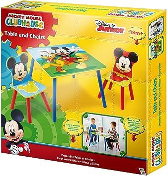 Mickey Mouse Asiento Grupo Mesa Lätt Parte Mesa Juego de Mesa ...