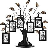 Americanflat Marco de árbol genealógico de Bronce con 6 Marcos para Cuadros Colgantes, Cada uno de 13x18.6 centimetros…