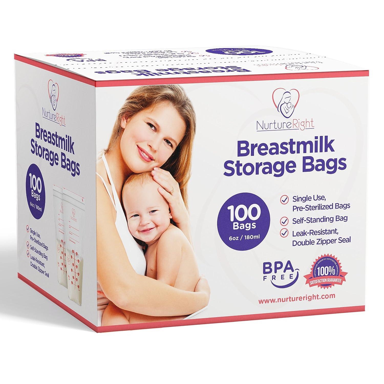 Nurture Right Breast Milk Storage Bags