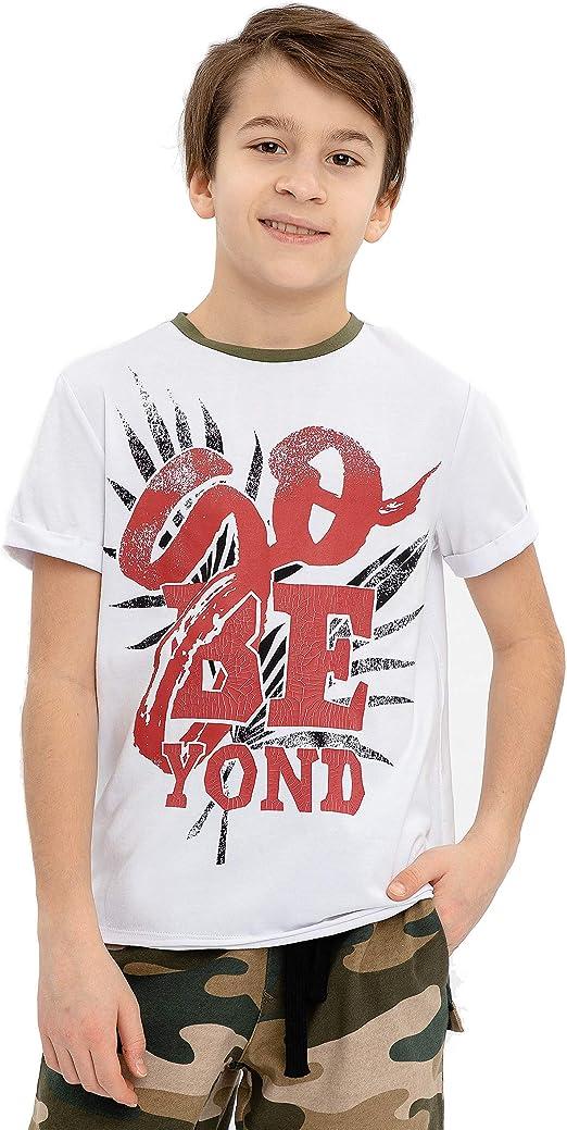 GULLIVER Camiseta de Manga Corta para Niño T-Shirt: Amazon.es: Ropa y accesorios