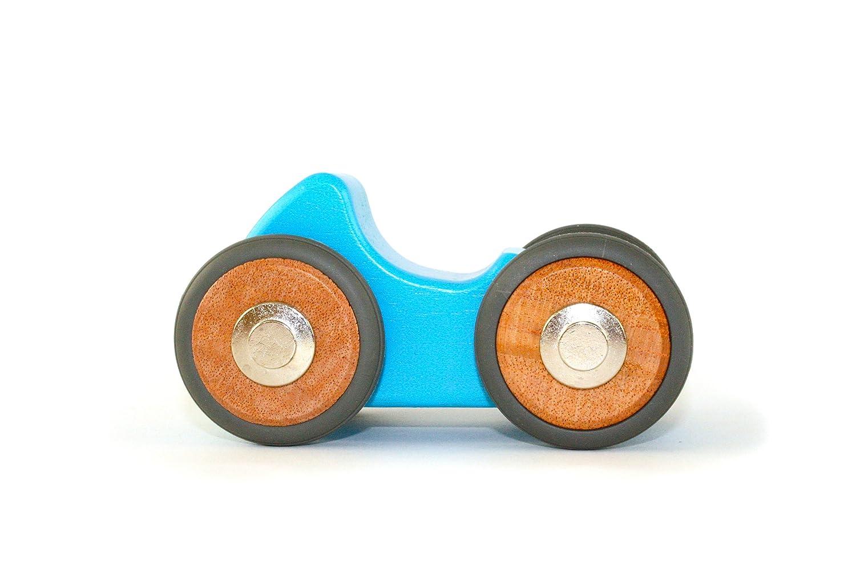 Tegu Riley- Bloques de Madera Magnéticos , Coche de 5 piezas: Amazon.es: Juguetes y juegos