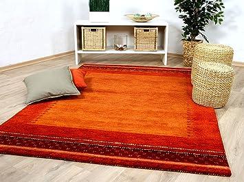 Natur teppich indo gabbeh esta rot classic in größen amazon