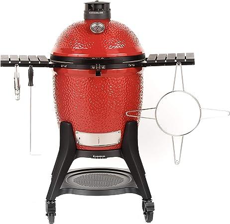 Kamado Joe KJ15040921 Classic III 18 inch Charcoal Grill, Blaze Red