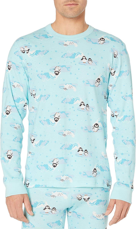 Moon and Back Standard Long Sleeve Pajama Top Pajama-Sets Mujer