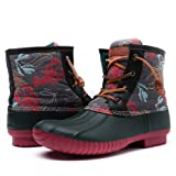 Amazon Price History for:Global Win Women's GW Nylon Textile Duck Winter Rain Boots