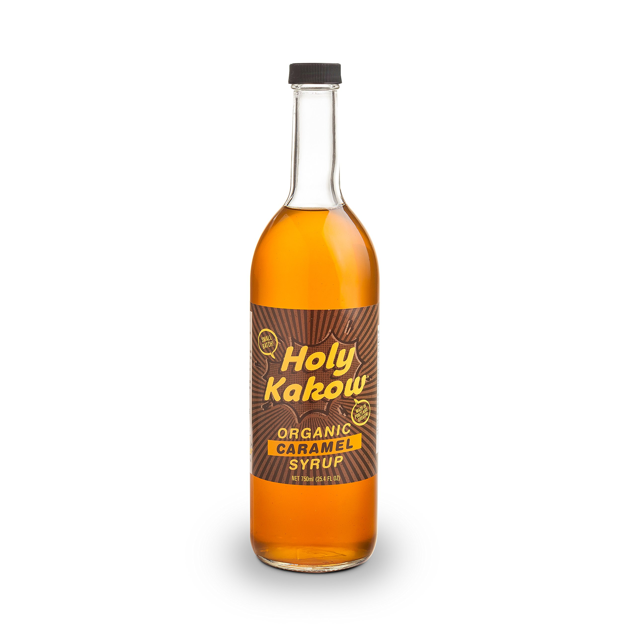 Holy Kakow Cafe Organic Caramel Syrup - 750ml