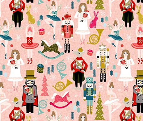 nutcracker fabric nutcracker ballet nutcrackers xmas holiday christmas christmas xmas holiday fabric by andrea