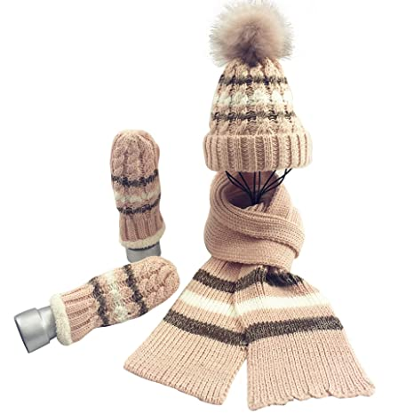 Cappello Sciarpa e Guanto Set Donna 302a957d135e