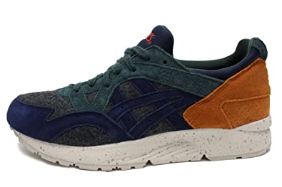 Asics Gel Lyte V Mens (Xmas Pack) In Dark Grey/Peacoat, 9