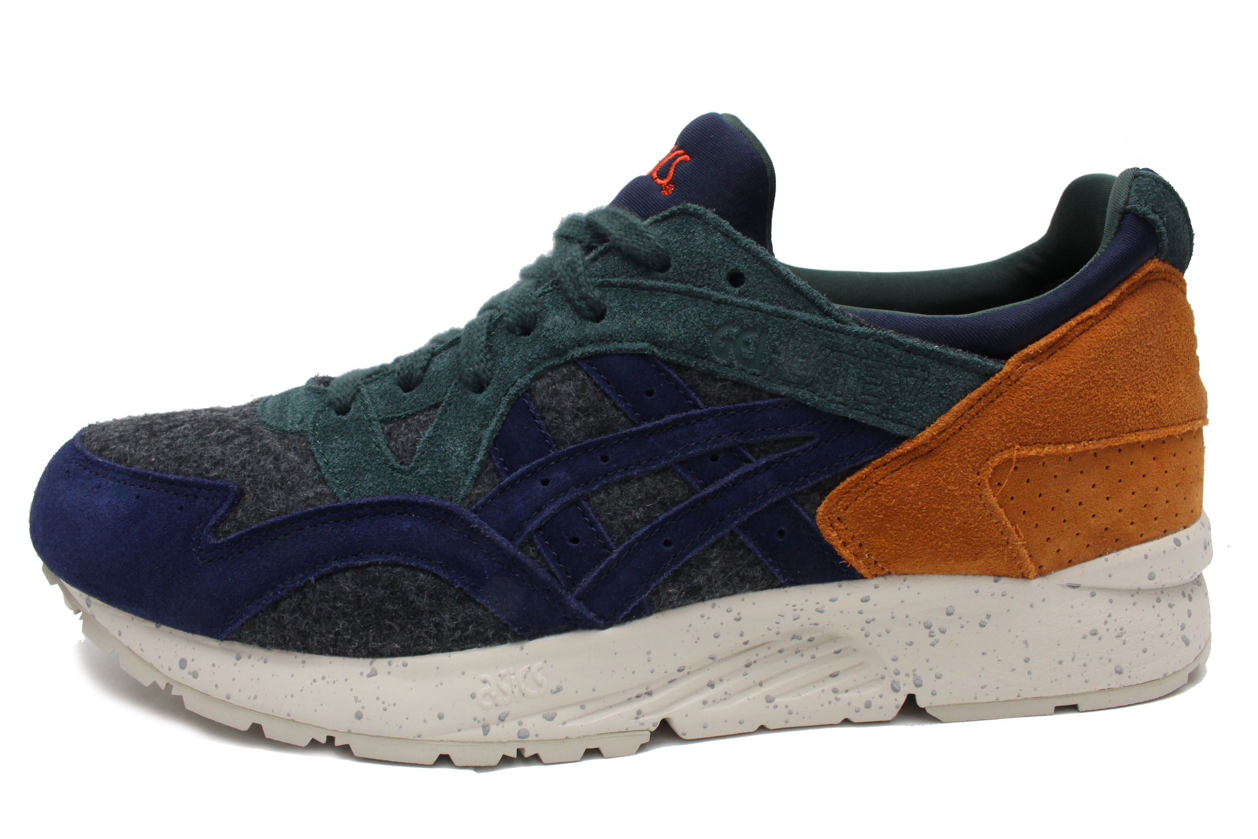 Asics Gel Lyte V Mens (Xmas Pack) In Dark Grey/Peacoat, 10.5